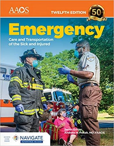 Emergency Care and Transportation of the Sick and Injured. Advantage Package Cover Image