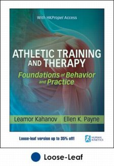 Athletic Training and Therapy: Foundations of Behavior and Practice. Includes HK Propel Access Cover Image