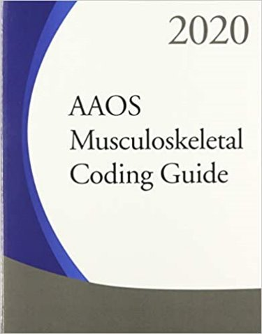 AAOS Musculoskeletal Coding Guide 2020 Cover Image