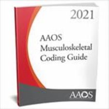 AAOS Musculoskeletal Coding Guide 2021 Cover Image