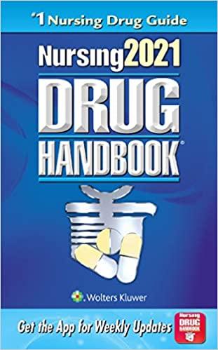 Nursing Drug Handbook 2021 Cover Image