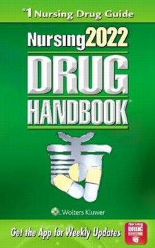 Nursing Drug Handbook 2022 Cover Image