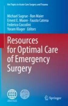 Resources for Optimal Care of Emergency Surgery Cover Image