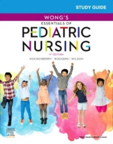 Study Guide for Wongs Essentials of Pediatric Nursing Cover Image