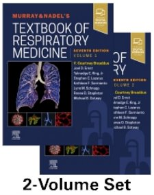 Murray and Nadels Textbook of Respiratory Medicine. 2 Volume Set. Text with Access Code Cover Image