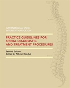 Practice Guidelines for Spinal Diagnostic & Treatment Procedures Cover Image