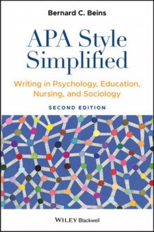 APA Style Simplified: Writing in Psychology, Education, Nursing, and Sociology Cover Image