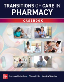 Transitions of Care in Pharmacy Casebook Cover Image