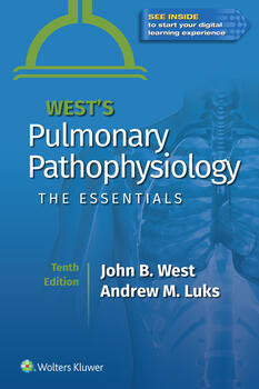 Wests Pulmonary Pathophysiology: The Essentials. Text with eBook Cover Image