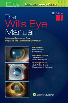 Wills Eye Manual: Office and Emergency Room Diagnosis and Treatment of Eye Disease. Text with eBook Cover Image