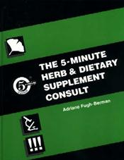 Five-Minute Herb and Diet Supplement Consult