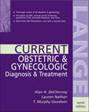 Current Obstetrics and Gynecologic Diagnosis and Treatment Cover Image