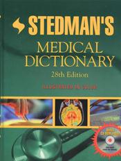 Stedman's Medical Dictionary. Text with CD-ROM for Macintosh and Windows