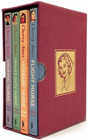 Cherry Ames Nursing Series. Boxed Set of 4 Books. 5-8