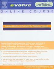 Saunders Clinical Skills Online for Medical Assistants. Internet Access Code