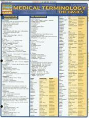 Medical Terminology, the Basics Laminated Reference Chart