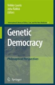 Genetic Democracy: Philosophical Perspectives