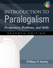 Introduction to Paralegalism: Perspectives, Problems, and Skills. Text with CD-ROM for Windows