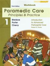 Brady Paramedic Care: Principles and Practice: Workbook Valuepack. 5 Volumes Cover Image