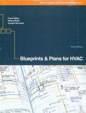 Blueprints and Plans for HVAC. Includes Text and Actual Plans