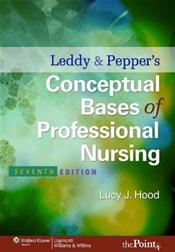 Leddy and Pepper's Conceptual Basis of Professional Nursing. Text with Internet Access Code for thePoint