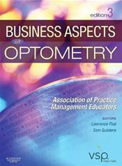 Business Aspects of Optometry: Association of Practice Management Educators