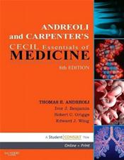 Andreoli and Carpenters Cecil Essentials of Medicine. Text with Internet Access Code for Student Consult Website Cover Image
