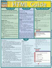 HTML Guide Laminated Reference Chart