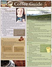 Coffee Guide Laminated Reference Chart