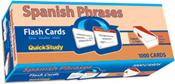 Spanish Phrases Flash Cards. 1000 Card Set
