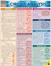Circuit Analysis Laminated Reference Chart