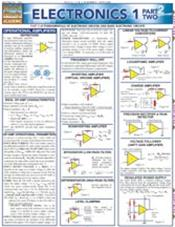 Electronics 1 Part 2 Laminated Reference Chart