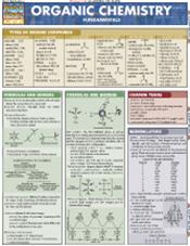 Organic Chemistry: Fundamentals Laminated Reference Chart