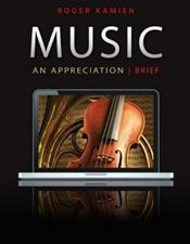 Music: An Appreciation Brief Edition Set. Text and Five Audio CD-ROMs