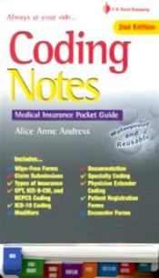 Coding Notes: Medical Insurance Pocket Guide