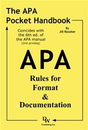 APA Pocket Handbook: Rules for Format and Documentation