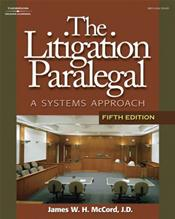 Litigation Paralegal: A Systems Approach