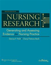 Nursing Research: Generating and Assessing Evidence for Nursing Practice. Text with Internet Access Code for thePoint