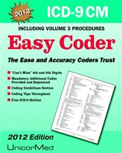 ICD-9 CM 2012: Easy Coder Including Volume Three Procedures