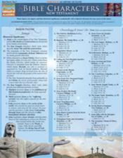 Bible Characters-New Testament Laminated Reference Chart