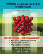 Materials Science and Engineering: An Introduction. Binder Ready Version