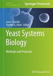 Yeast Systems Biology: Methods and Protocols