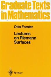 Lectures on Reimann Surfaces
