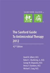 Sanford Guide to Antimicrobial Therapy 2012. Spiral