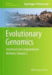 Evolutionary Genomics: Statistical and Computational Methods, Volume 2