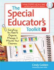 Special Educator's Toolkit: Everything You Need to Organize, Manage, and Monitor Your Classroom. Text with CD-ROM for Windows and Macintosh