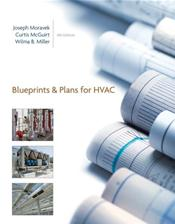 Blueprints and Plans for HVAC. Includes Textbook and Drawings