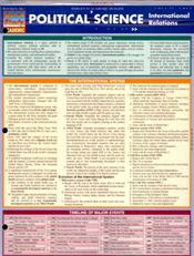 Political Science-International Relations Laminated Reference Chart