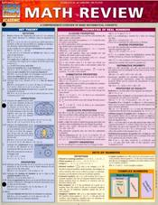 Math Review Laminated Reference Chart