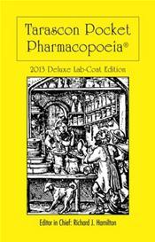 Tarascon Pocket Pharmacopoeia 2013. Deluxe Lab-Coat Pocket Edition